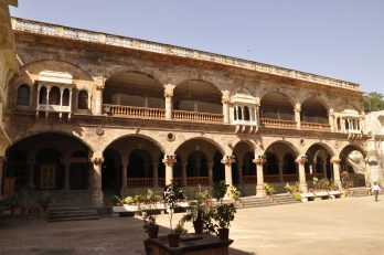Courtyard at Rajwada