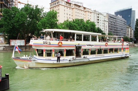 Vessel for Danube cruise